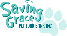 Logo | Saving Grace Pet Food Bank, Inc., A 501(c)3 Non-Profit Organization