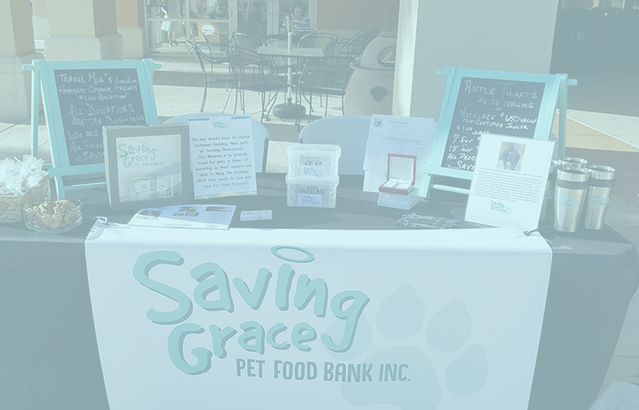 Volunteer To Support Us During Events | Saving Grace Pet Food Bank, Inc.